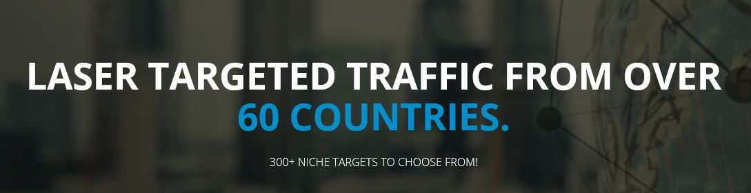 Get traffic from 190+ countries